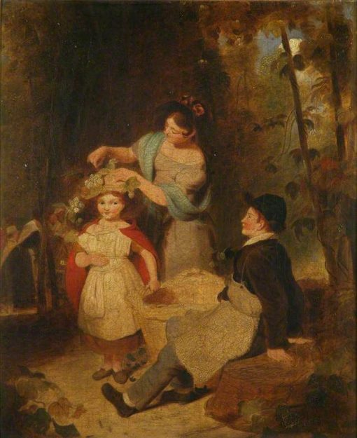 The Hop Pickers | Henry William Pickersgill | Oil Painting