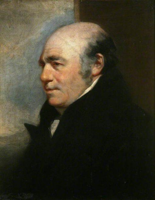 Mr John Deffett   John Jackson   Oil Painting