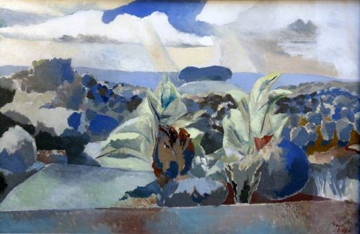 Landscape of the Bagley Woods | Paul Nash | Oil Painting