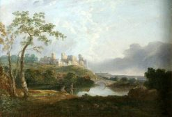 Landscape with Old Castle | Richard Wilson