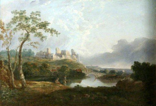 Landscape with Old Castle | Richard Wilson