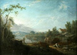 River Scene in Italy | Richard Wilson