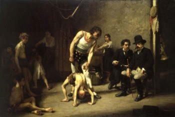 The Acrobat Family   Nils Forsberg   Oil Painting