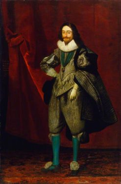 King Charles I (1600-1649) | Daniel Mijtens | Oil Painting