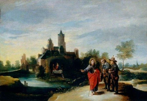 Christ and Disciples on the Way to Emmaus | David Teniers II | Oil Painting