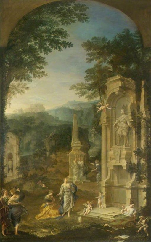 Allegorical Tomb of Joseph Addison (1642-1719)