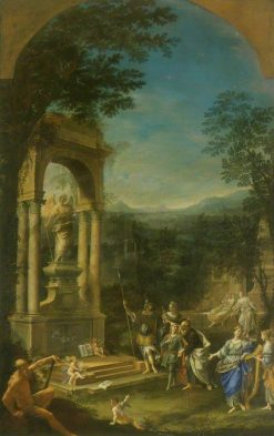 Allegorical Tomb of Thomas Wharton (1648-1715) Politician | Donato Creti | Oil Painting
