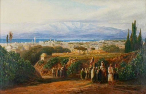 View of Beirut | Edward Lear | Oil Painting
