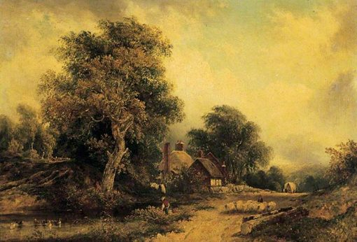Landscape | Frederick Waters Watts | Oil Painting