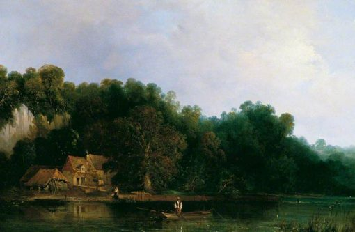 View of the Thames from Tilehurst | Frederick Waters Watts | Oil Painting