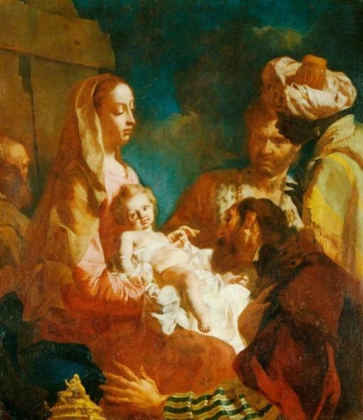 The Adoration of the Magi | Giovanni Battista Piazzetta | Oil Painting