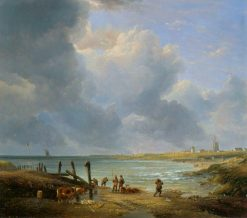 Landscape on the Norfolk Coast | James Stark | Oil Painting