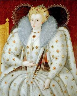 Elizabeth I (1533-1603) | Marcus Gheeraerts the Younger | Oil Painting