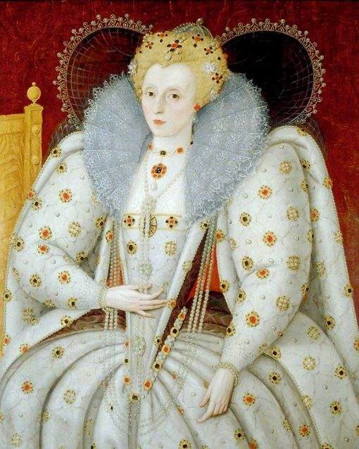 Elizabeth I (1533-1603)   Marcus Gheeraerts the Younger   Oil Painting