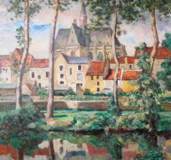 A View of Montrésor | Roger Eliot Fry | Oil Painting