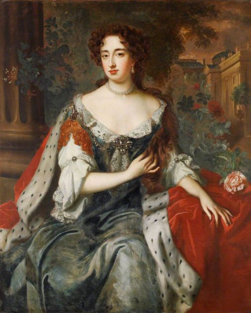 Queen Mary II (1662-1694) | Willem Wissing | Oil Painting