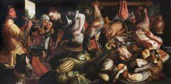 A Kitchen Scene | Pieter Aertsen | Oil Painting