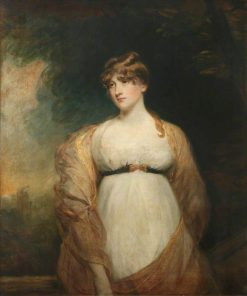 Portrait of an Unknown Lady in White | John Hoppner | Oil Painting