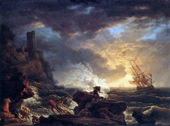 Shipwreck | Claude Joseph Vernet | Oil Painting