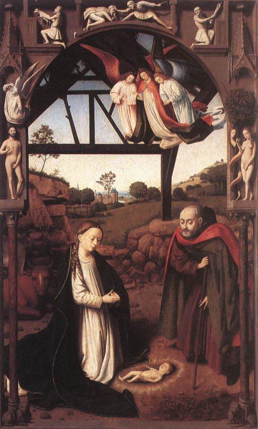 The Nativity | Petrus Christus | Oil Painting