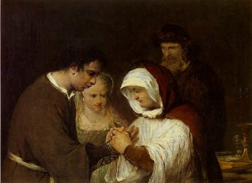 Hannah Blessing Tobias and Sarah | Aert de Gelder | Oil Painting