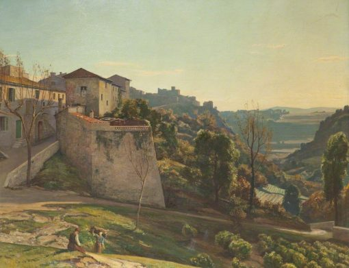 Cagnes   Herbert Hughes Stanton   Oil Painting