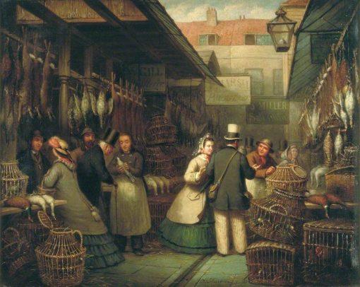 Leadenhall Market | Andries Scheerboom | Oil Painting