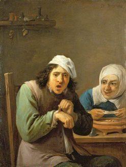 The Five Senses: Feeling | David Teniers II | Oil Painting