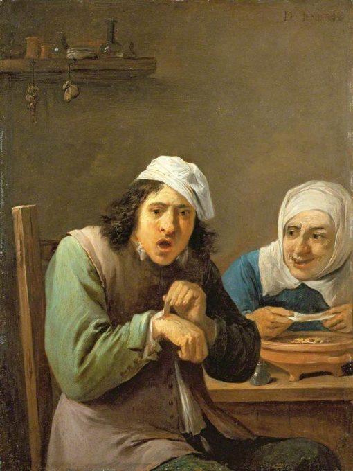 The Five Senses: Feeling   David Teniers II   Oil Painting