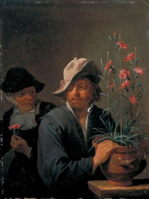The Five Senses: Smell | David Teniers II | Oil Painting