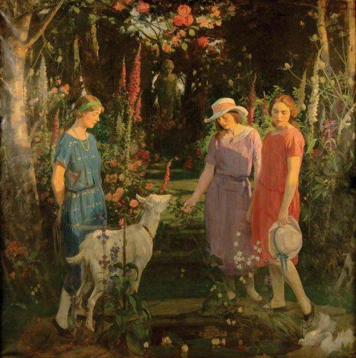 Amaryllis | George Harcourt | Oil Painting