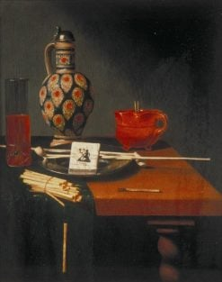 Still Life with a Stoneware Jug