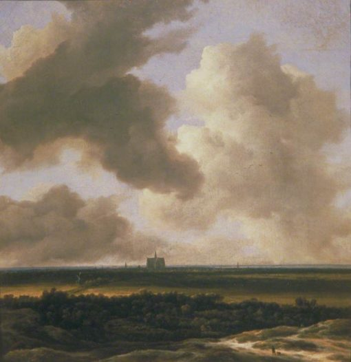 Panoramic View of Haarlem