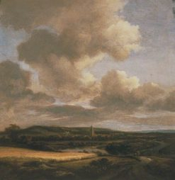 Landscape with Cornfield | Jacob van Ruisdael | Oil Painting