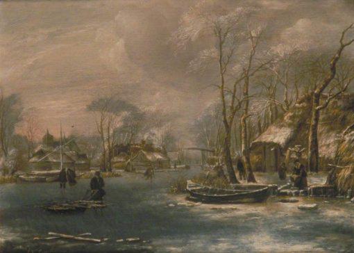 Winter Landscape | Jan van de Cappelle | Oil Painting