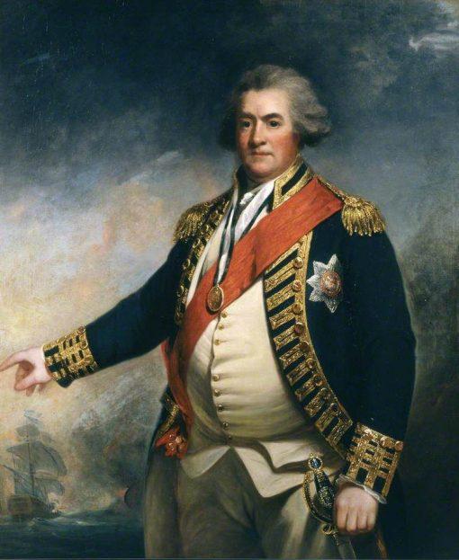 Admiral Lord Duncan | John Hoppner | Oil Painting
