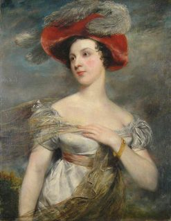 Miss Chester (Eliza Jane Chester) (1795-1859) | John Jackson | Oil Painting