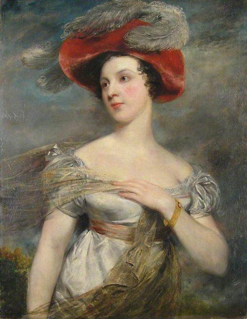 Miss Chester (Eliza Jane Chester) (1795-1859) | John Jackson | Oil Painting