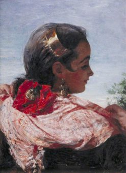 Head of a Spanish Girl | John Phillip | Oil Painting