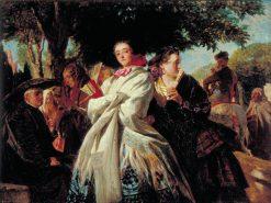 The Huff | John Phillip | Oil Painting