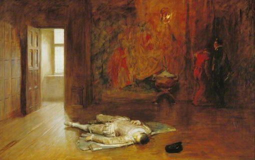 Silenced | John Seymour Lucas | Oil Painting