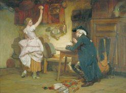 Flirtation | John Seymour Lucas | Oil Painting