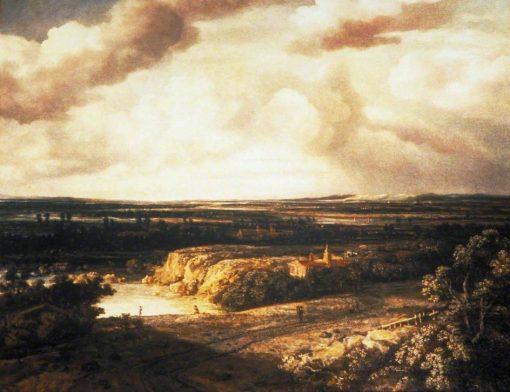 Panoramic Landscape | Philips Koninck | Oil Painting