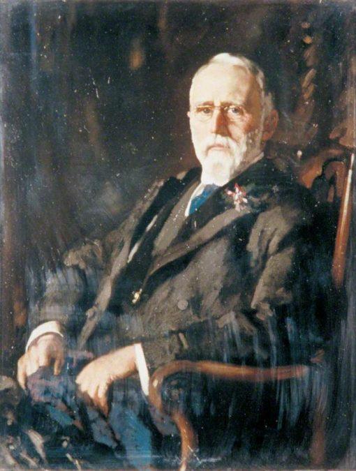 Sir Evan Spicer   Sir William Orpen   Oil Painting