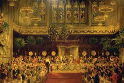 The Coronation Luncheon to King George V and Queen Mary in the Guildhall