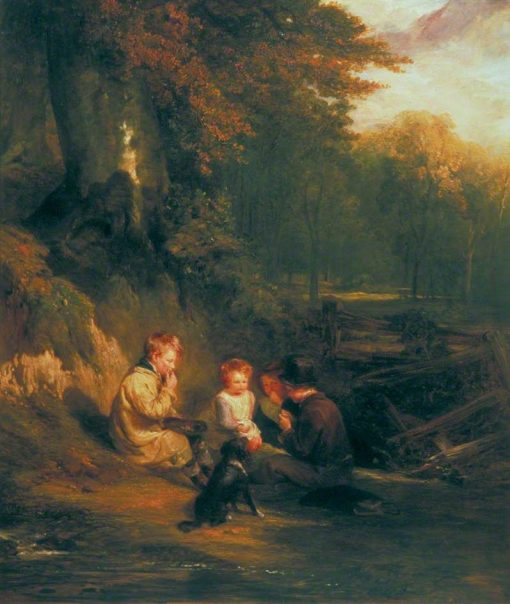 The Nutting Party | William Collins | Oil Painting