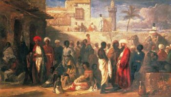 The Slave Market at Cairo