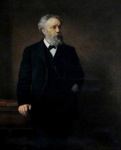 Alderman James Stuart (b.1836) | Ernest Gustave Girardot | Oil Painting