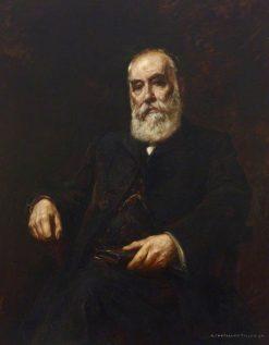 Sir Thomas Stevenson   Albert Chevallier Tayler   Oil Painting