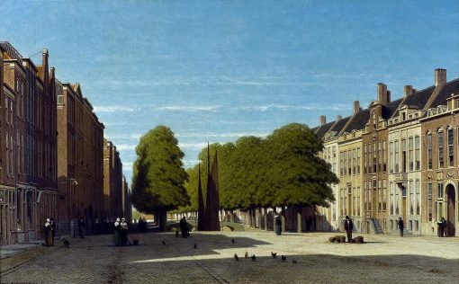 Prinsegracht in The Hague